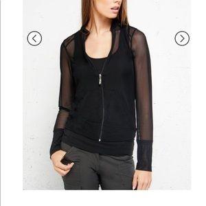Anatomie Bailey Mesh Zip Up Jacket NWOT